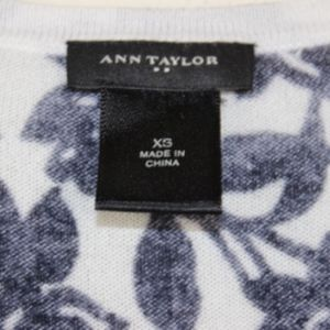 Ann Taylor Sweaters - Ann Taylor Factory Button Down Rose Cardigan XS